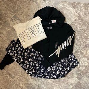 Pink hoodie set